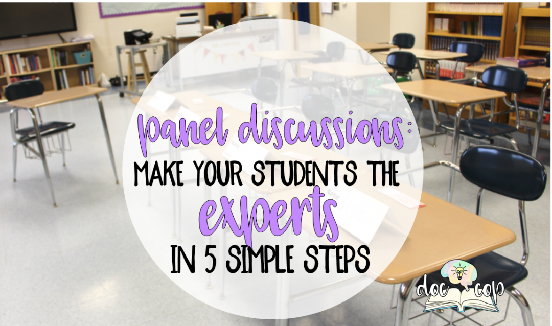 Panel discussions are a great activity to engage students in critical reading. Download your free resources to use panel discussions in your classroom.
