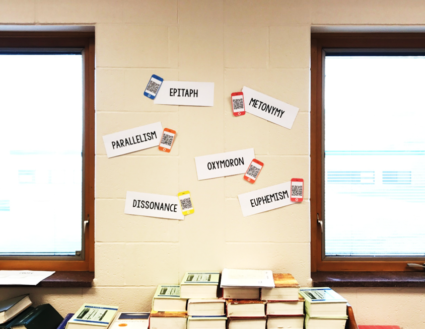 How To Wow Your Students with QR Code Word Walls