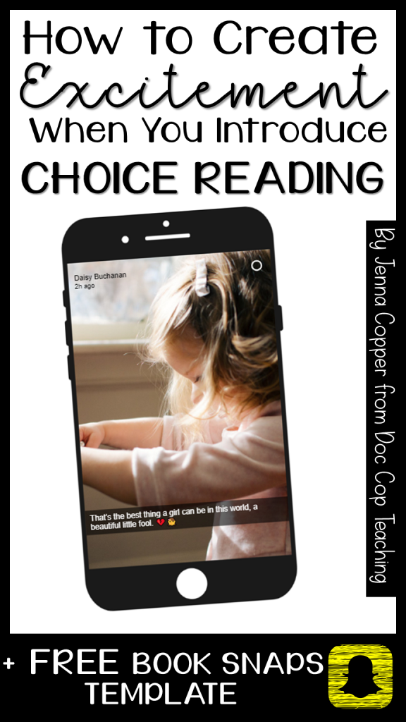 Download your FREE Book Snaps template and learn about choice reading!