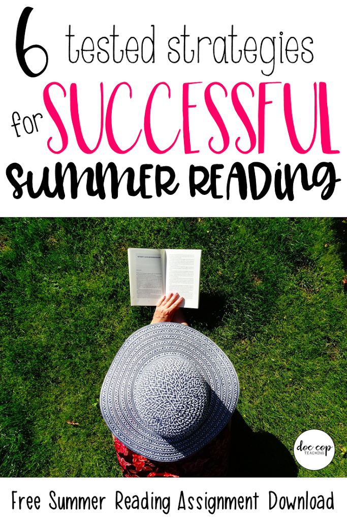 Check out these six tested strategies to engage your students in successful summer reading! Plus, download a free editable summer reading assignment and book list! As a bonus, this book list has teacher must-reads too!