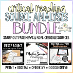 The Critical Reader's series is a collection of resources designed to engage students in multiple perspectives analysis to create a classroom of critical readers.