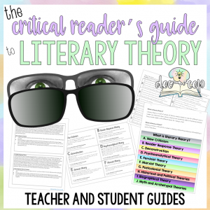 The Critical Reader's Guide to Literary Theory gives teachers & students background and practical applications to use literary theory to build critical reading skills.