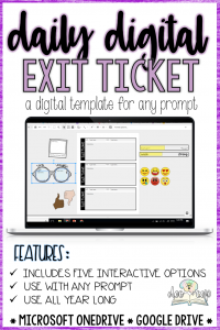 Bellringers and exit tickets are great routines to establish any of the time. Read about how I revamped my bellringers and exit tickets for my New Year's Resolution.