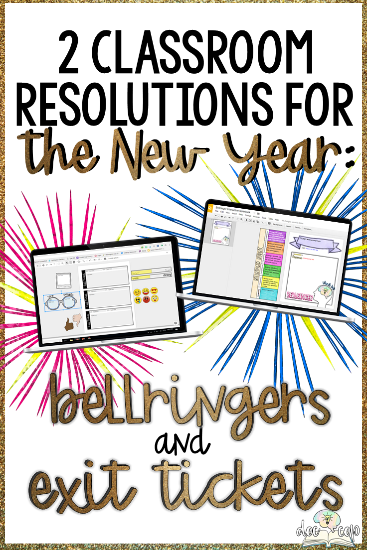 Bellringers and Exit Tickets: Two Classroom Resolutions for the New Year