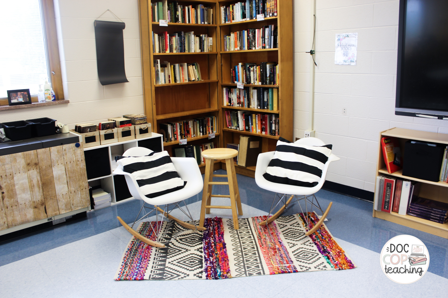 High School ELA Classroom Flexible Seating Makeover