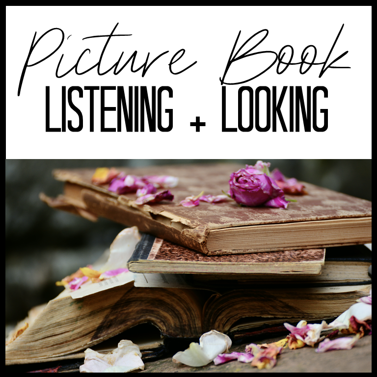 Get this FREE listening and look guide to analyze ANY picture book in secondary ELA.