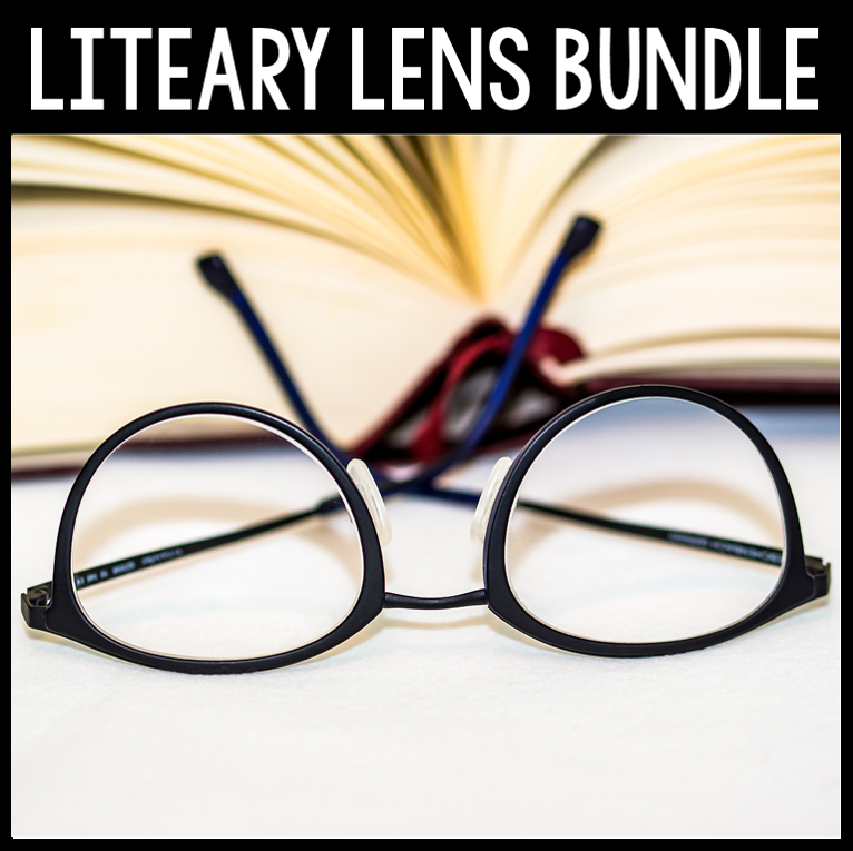 The Literary Lenses Bundle has everything you need to teach your students literary theory and beyond!